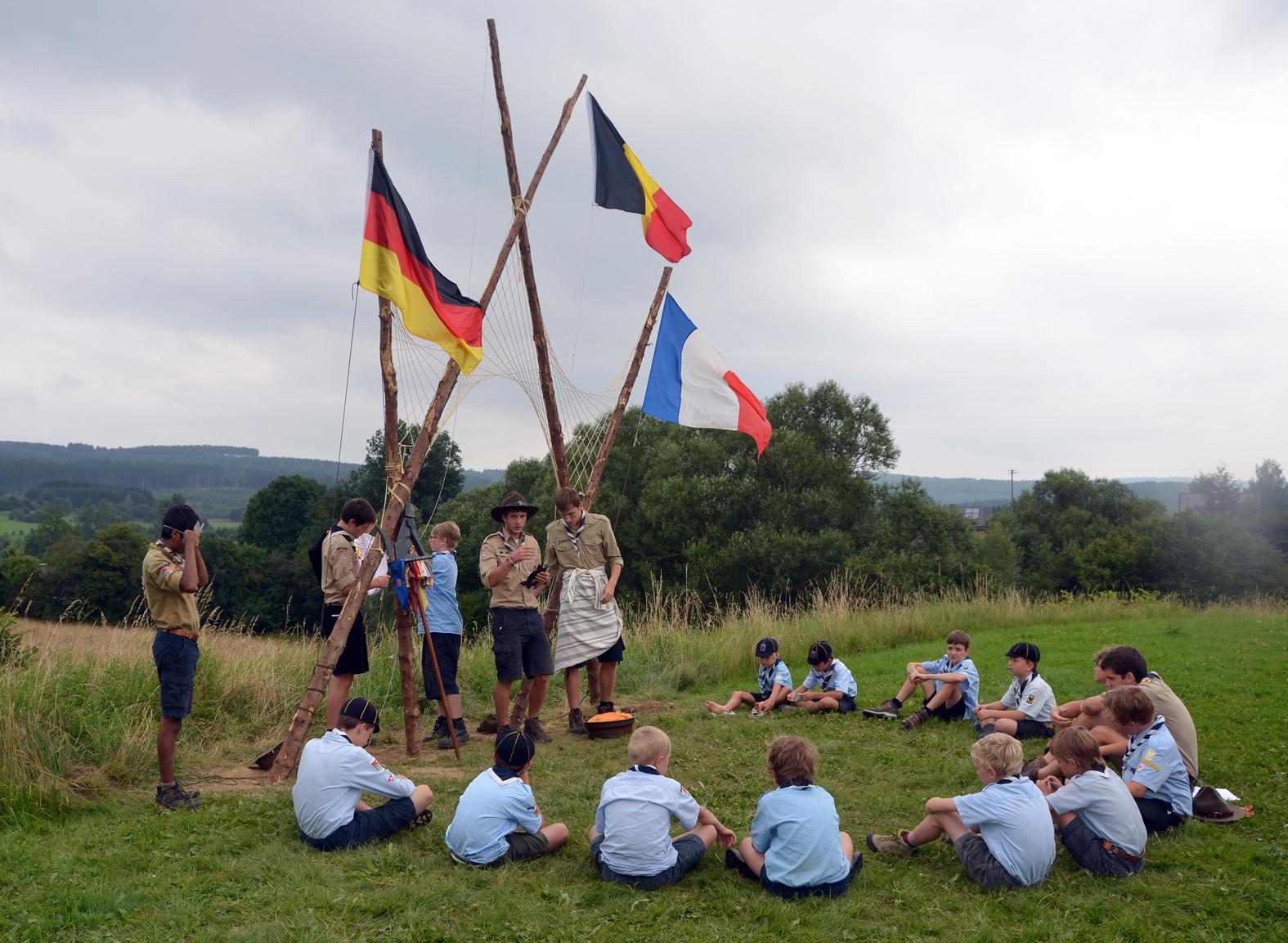 Camp louveteau 2013 – Vaux-Chavanne !